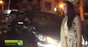 Miss Grand Internasional Kenakan Batik Medan di Maharani Collection