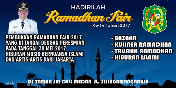 26 Mei 2017 - Iklan Banner Ramadhan Fair ke-14 Tahun 2017