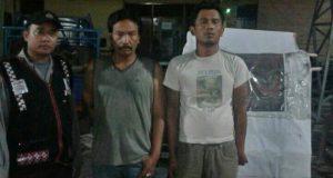 Terekam CCTV, Dua Pencuri Prabot Rumah Tangga Diringkus