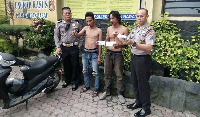 Dua Preman Ditangkap Setelah Peras Sopir Bus Pariwisata