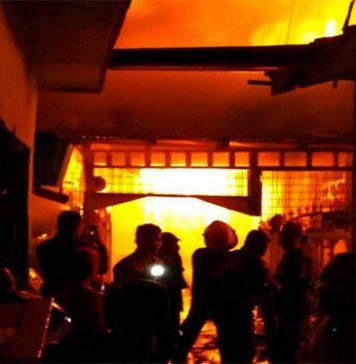 41 Rumah Ludes Dilalap Api di Medan Perjuangan