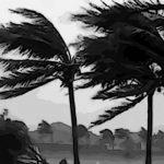 Ilustrasi angin puting beliung