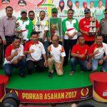 Kisaran Timur Raih Juara Umum Porkab Asahan 2017