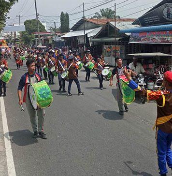 Parade 14 Etnik Meriahkan Pagelaran Seni dan Budaya Daerah Ke III Asahan