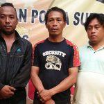 Aksi Terekam CCTV, pelaku Pemerasan Meringkus di Sel