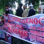 Masyarakat Sumut Gelar Aksi Solidaritas untuk Rohingya 1