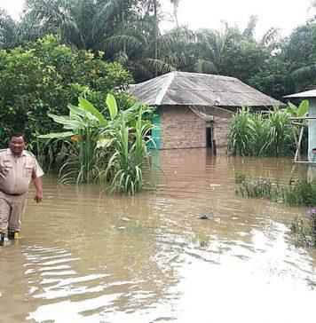 Tiga Hari Diguyur Hujan, Ratusan Rumah Di Asahan Terendam Banjir
