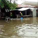 tobasatu berita medan ratusan rumah terendam banjir
