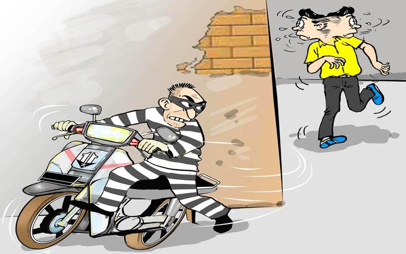 Hati-hati, Pelaku Pencurian Intai Sepeda Motor Anak Kos di Medan - Berita medan terupdate hari ini - tobasatu news