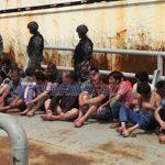TNI AL Tangkap Kapal Buronan Interpol Berbendera Tiongkok di Perairan Aceh pekerjakan empat ABK warga negara Indonesia