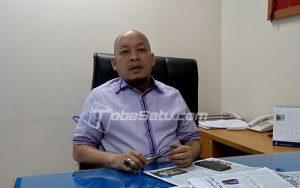 Anggota DPRD Sumut Aripay Tambunan. (tobasatu.com/nida)
