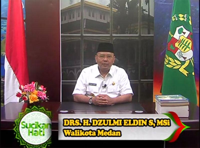 Pidato dan Himbauan Walikota Medan Menjelang Bulan Ramadhan