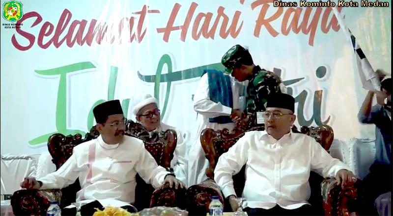 Pawai Takbiran di Lapangan Merdeka Medan