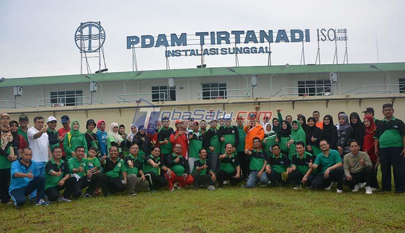 Keluarga Besar Alumni HMI KFJS Berwisata ke PDAM Tirtanadi