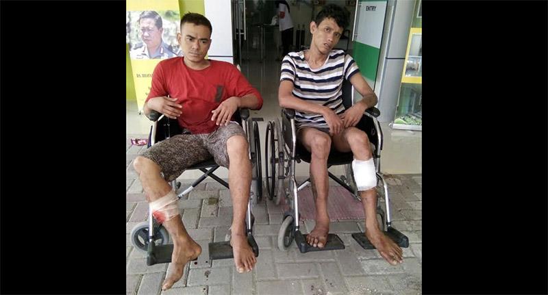 Dua Perampas Tas Milik Purnawirawan Polisi Roboh Ditembak