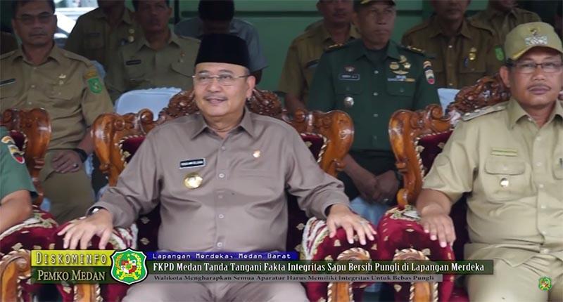 FKPD Medan Tanda Tangani Fakta Integritas Sapu Bersih Pungli