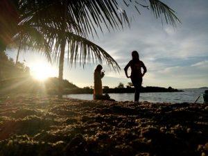 Keindahan pantai di kawasan Pantai Barat Tapteng ini tak kalah dengan objek wisata nasonal lainnya. (tobasatu.com/Hasanul Jihadi).