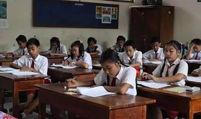 15.173 Pelajar Kelas VI SD Ikuti Ujian Sekolah TA 2016-2017 di Asahan