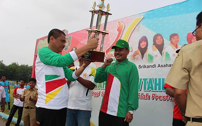 3 Kecamatan Gagal Bawa Pulang Medali Pada Pekan Olahraga Kabupaten Asahan 2017 (Porkab Asahan)