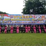 Rayakan HUT Bhayangkara 71, Polres Asahan Gelar Hiburan Kesenian Rakyat (1)