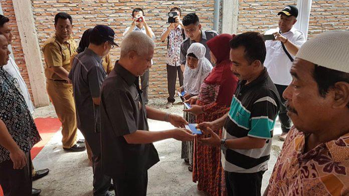 247 KK di Asahan Terima Bantuan Dana Rehab Rumah