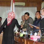 DPRD Setujui Ranperda P-APBD TA 2017 Asahan Rp. 1,7 T