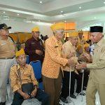 Pemkab Asahan Berikan Penali Kasih Kepada 150 Veteran