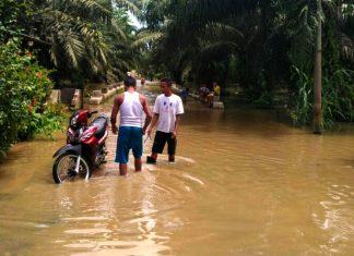 Warga Desa Sei Dadap Minta Pemkab Asahan Atasi Banjir