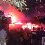 Di Asahan, Dua Rumah Ludes Terbakar