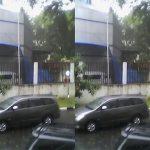Kanopi Gedung DPRD Medan Ambruk, Timpa Mobil dan Sepeda Motor