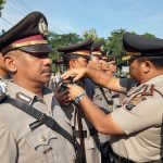 Kapolres Asahan Serah Terimakan 3 Jabatan Perwira