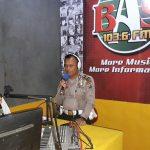 Polres Asahan Sosialisasikan Tertib Lalin Lewat Radio