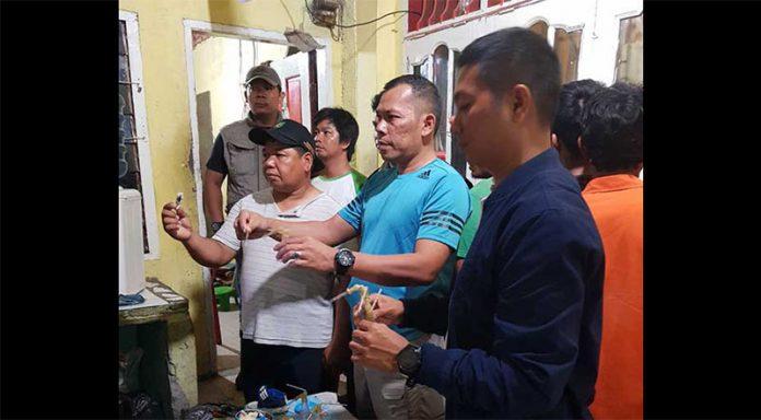 Kampung Kubur Digrebek, Enam Pelaku Narkoba Diringkus Polisi