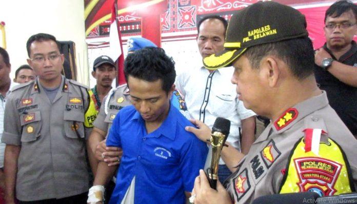 Polsek Medan Labuhan Tembak Pelaku Perampokan di Medan Marelan