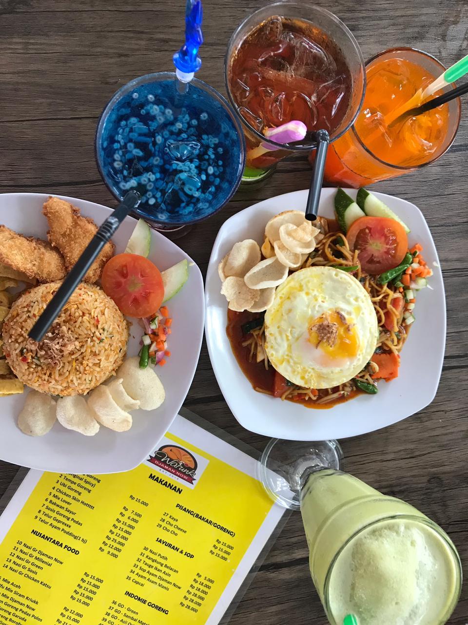Warunk Djaman Now Ramaikan Bisnis Kuliner Di Marelan Sasar Kaum