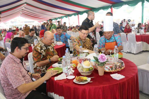 20 September 2019 - Galeri Foto Kegiatan Pembukaan Festival Kuliner Kota Medan Tahun 2019